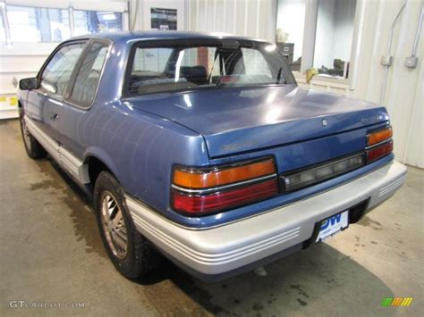 1989 Pontiac Grand Am by 1989 Sapphire Blue Pontiac Grand Am Le Coupe 43647560