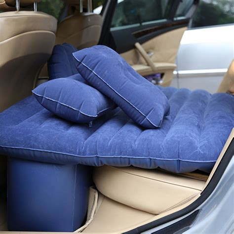 inflatable car bed car inflatable mattress outdoor travel car air bed with