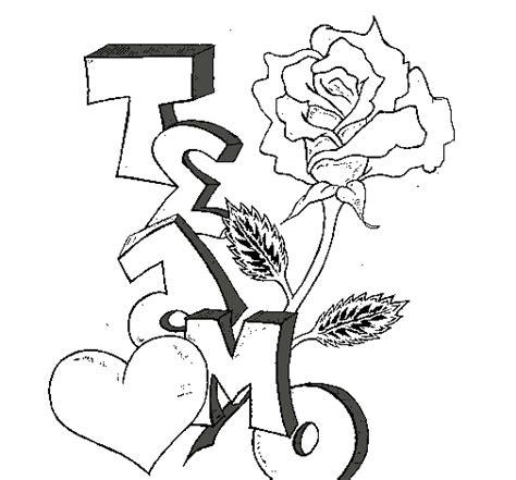 imagenes de amor para dibujar en cartulina graffitis de amor para colorear colorear im 225 genes