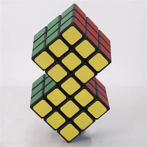 Guess 2in1 2 in 1 conjoined rubik s magic cube the green