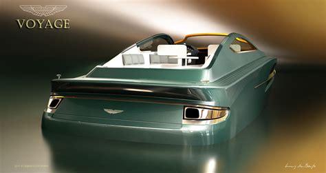 aston martin boat aston martin boat concept takes bond off shore autoblog