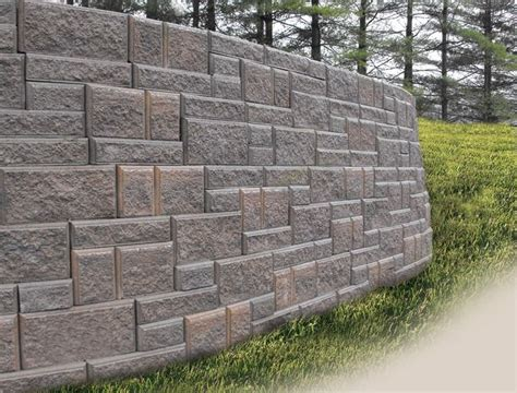 Interlocking Retaining Wall Outdoor Spaces Pinterest Garden Wall Retaining Blocks