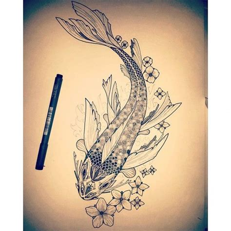 tattoo mandala fish mandala koi fish google search tattoo designs