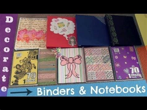 How To Decorate Your Binder by 25 Unique Decorate Binder Ideas On Diy
