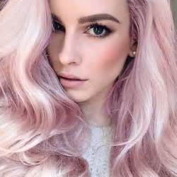 pastel pink hair color quartz hair pantone hair colour trends hair
