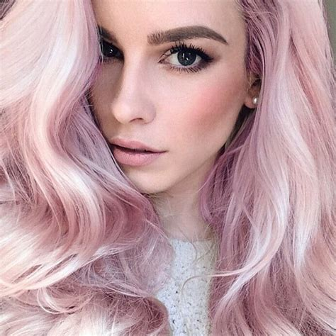 rose quartz hair pantone hair colour trends hair romance