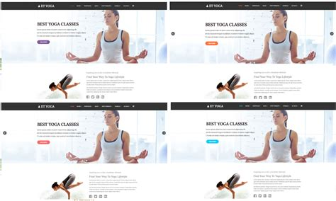 responsive website templates for yoga et yoga free responsive yoga joomla template