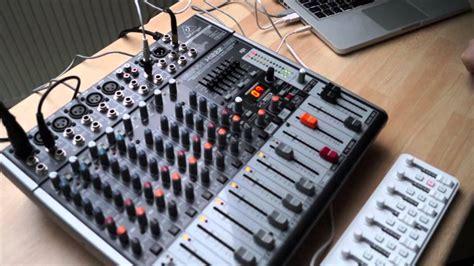 Mixer Behringer Xenyx 1222usb behringer xenyx x1222usb part 2