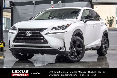 lexus nx 2017 used 2017 lexus nx 200t premium se awd black edition for