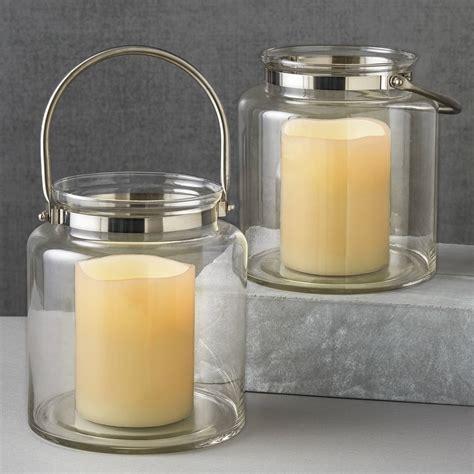 Hurricane Lantern Candle Lights Lit Decor Flameless Candles Flameless