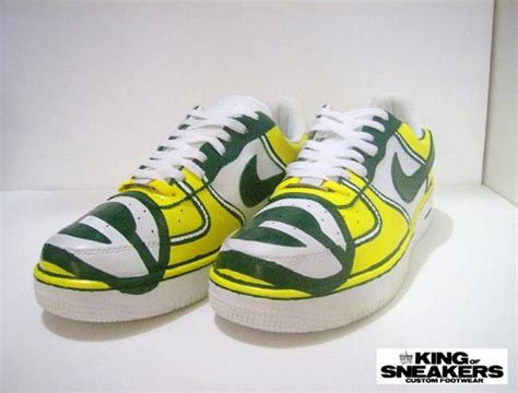 green bay packers shoes green bay packers custom shoes nikes vans and more