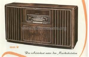 Musik Schrank by Musikschrank 9040w Radio Grundig Radio Vertrieb Rvf Radiow
