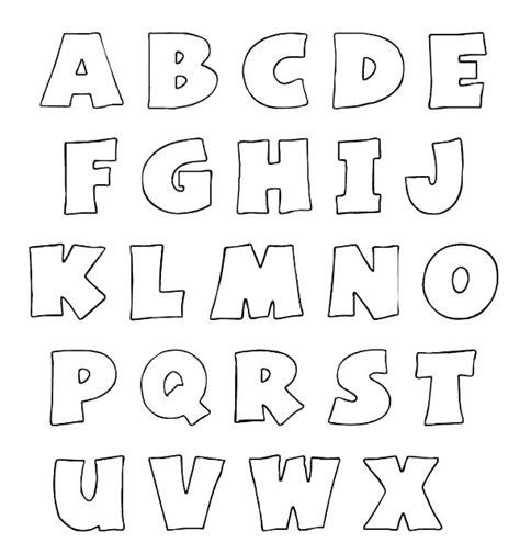 Colored Alphabet Printables