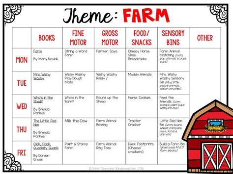 Farm Theme Home Preschool Lesson 25 Best Ideas About Preschool Farm Theme On