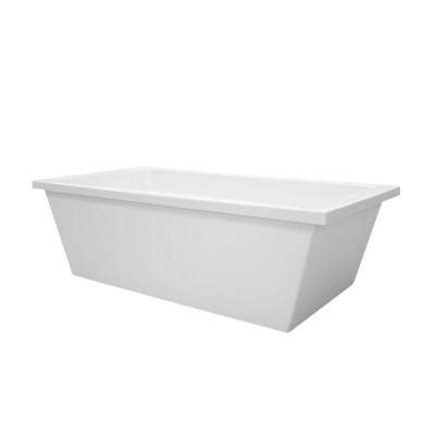 5 foot freestanding bathtub hydro systems brighton 5 5 ft center drain freestanding