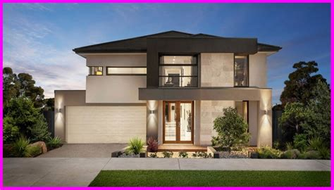 imagenes de casas tipo minimalistas modelos de fachadas de casas modernas de dos pisos para