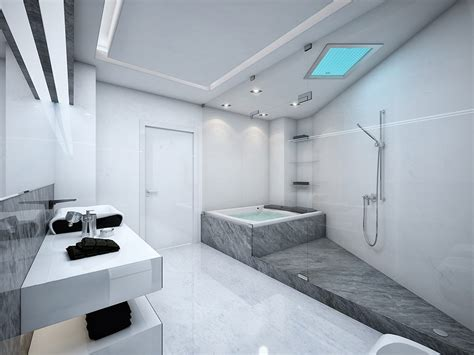 black and grey bathroom ideas futuristic black and white apartment