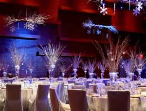 The branches are the key element to these centerpieces they bring the