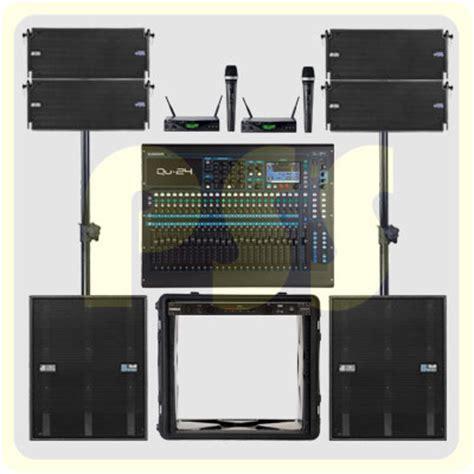 Speaker Aktif Indoor Paket Groundstack Array Db Tecnologies Italy Paket Sound System Profesional Indonesia