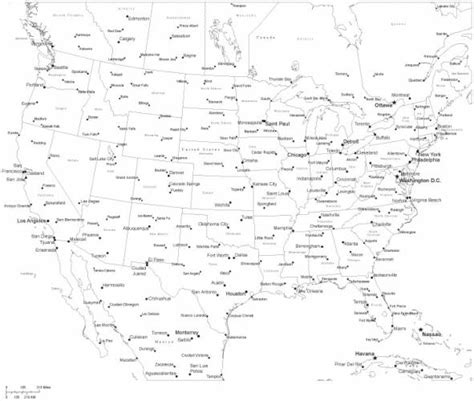 printable us map with cities free map of usa with states and cities holidaymapq com