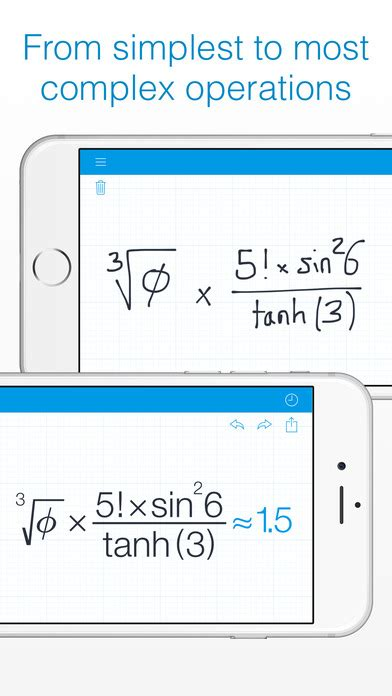 myscript calculator apk myscript calculator handwriting calculator on the app store