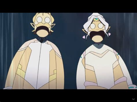 references of anime in voltron
