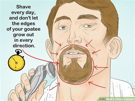 Goatee Trimming Template by How To Grow And Style Your Goatee Goatee Templates New My