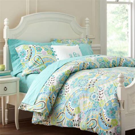 paisley pop duvet cover pillowcases pbteen