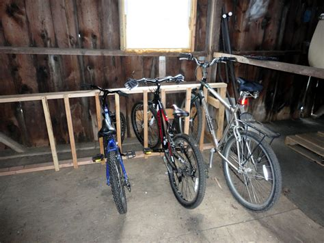 Bike Rack For Home by Another Completed Project Bicycle Storage The Curtis