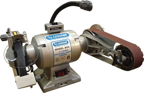 bench grinder attachment 8 quot bench grinder linishing attachment