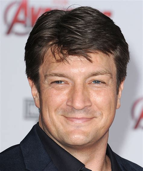 Nathan Hairstyle by Nathan Fillion Casual Hairstyle Chocolate