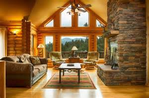 home decorating ideas living room homes cabin