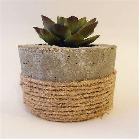 concrete succulent planter concrete planter pot succulents cacti cement planter pot