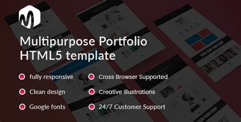 Mat Study Material Free by Mat Material Portfolio Showcase Template