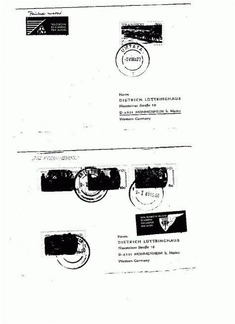 Luftpost Aufkleber Erforderlich by Philaseiten De Venda Und Nagaland L 228 Nder Mit Posthoheit