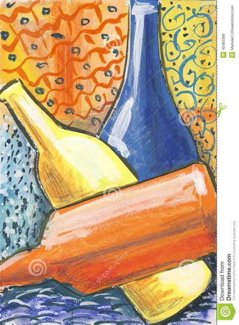 modern art  stock illustration image