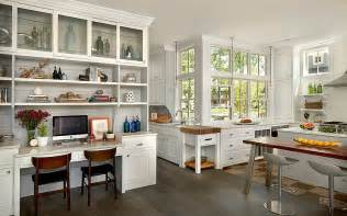 Kitchen Desk Ideas For Small Houses Modern Traditional Home Design With Many