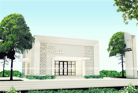 design gerbang masjid jasa arsitek desain mesjid musholla minimalis ukuran 10x10
