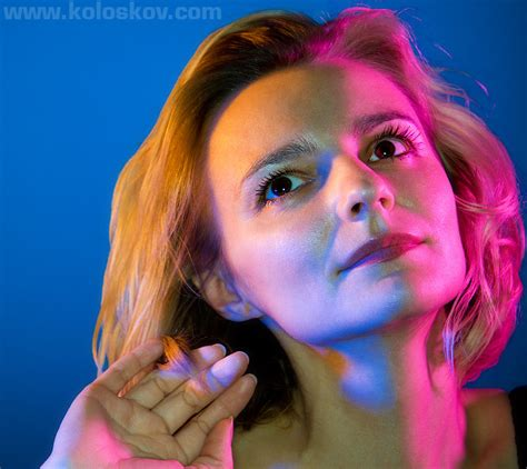 color portraits portrait photography lighting when one color is not enough