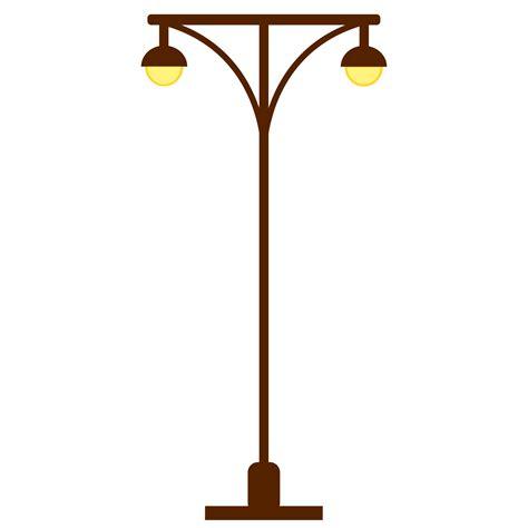 light post lights clipart l post light post two lights