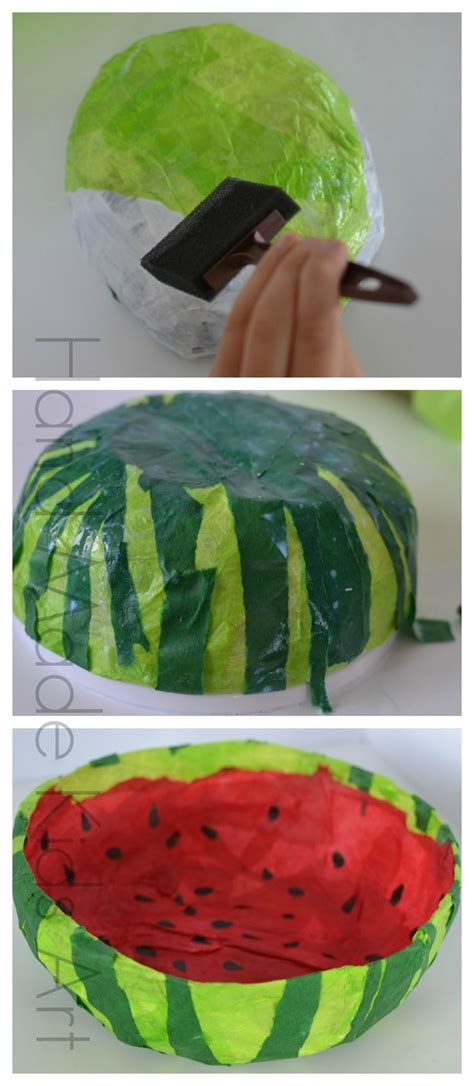 Watermelon Paper Craft - 25 best ideas about watermelon crafts on