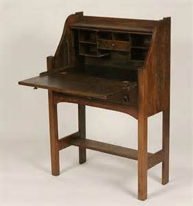 Small Vintage Writing Desk Antique Writing Desk Small Portable Writing Desk Mission Oak Slant Top Antique