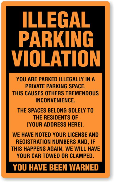 parking ticket template sle parking ticket forms