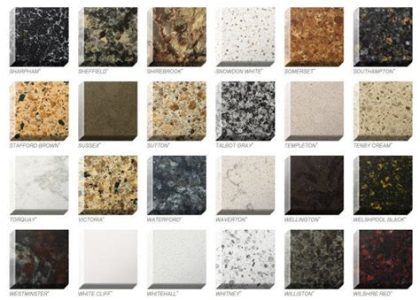 Colors For Quartz Countertops quartz colors styles ebie construction