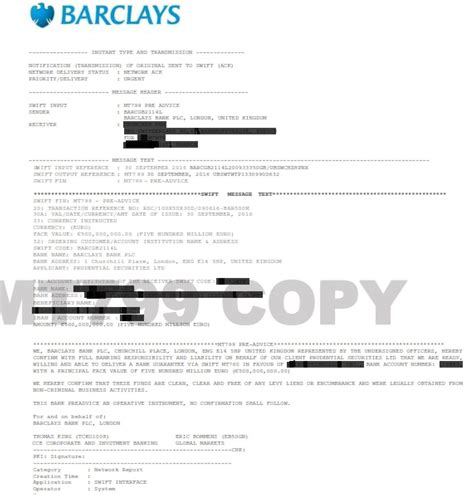 Barclays Bank Letterhead Category Archive For Quot Bank Guarantee Quot Secure Platform Funding