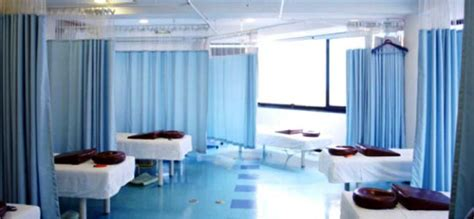 emergency room curtains window treatments for health care facilities