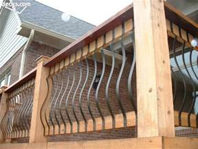 Beautiful iron deck railing 4 composite deck railing iron