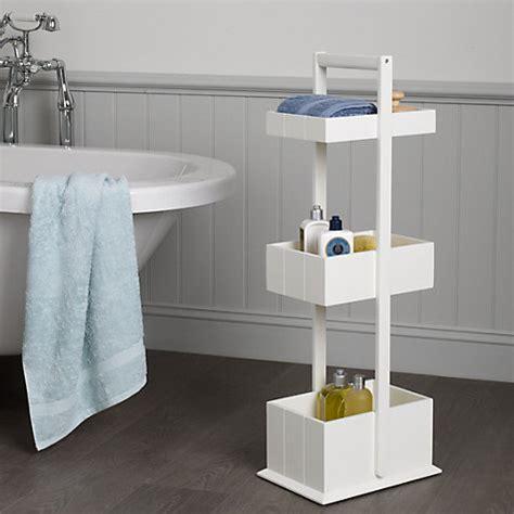 3 tier wooden bathroom caddy buy john lewis st ives 3 tier bathroom storage caddy