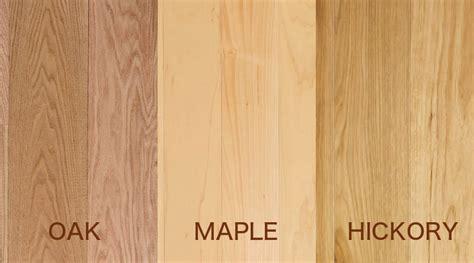 Oak Flooring Vs Maple and Hickory Flooring
