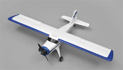 Rc Plane Trainer aerosky rc dhc 4 channel 1000mm rc trainer plane rtf blue rc remote radio